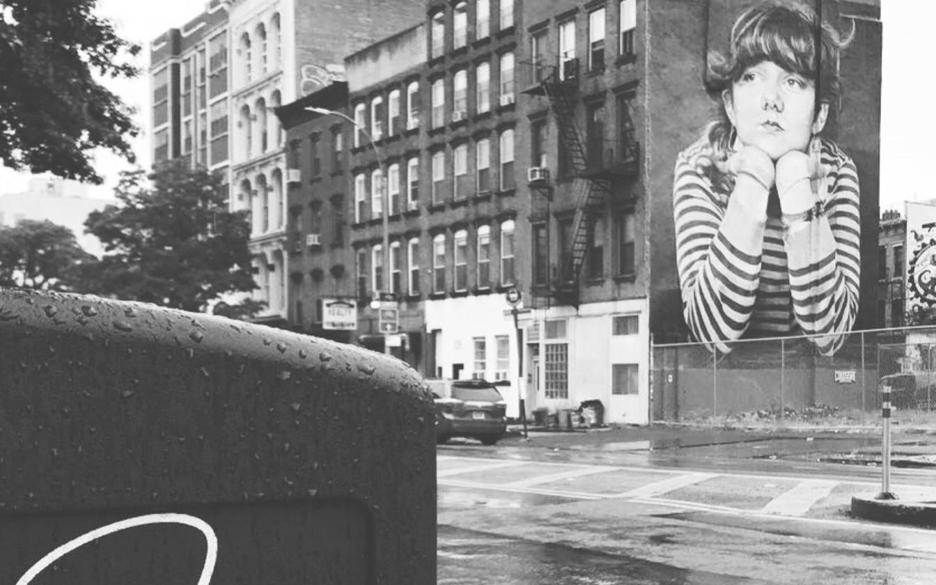 Graffiti in the neighborhood of Williamsburg in Brooklyn