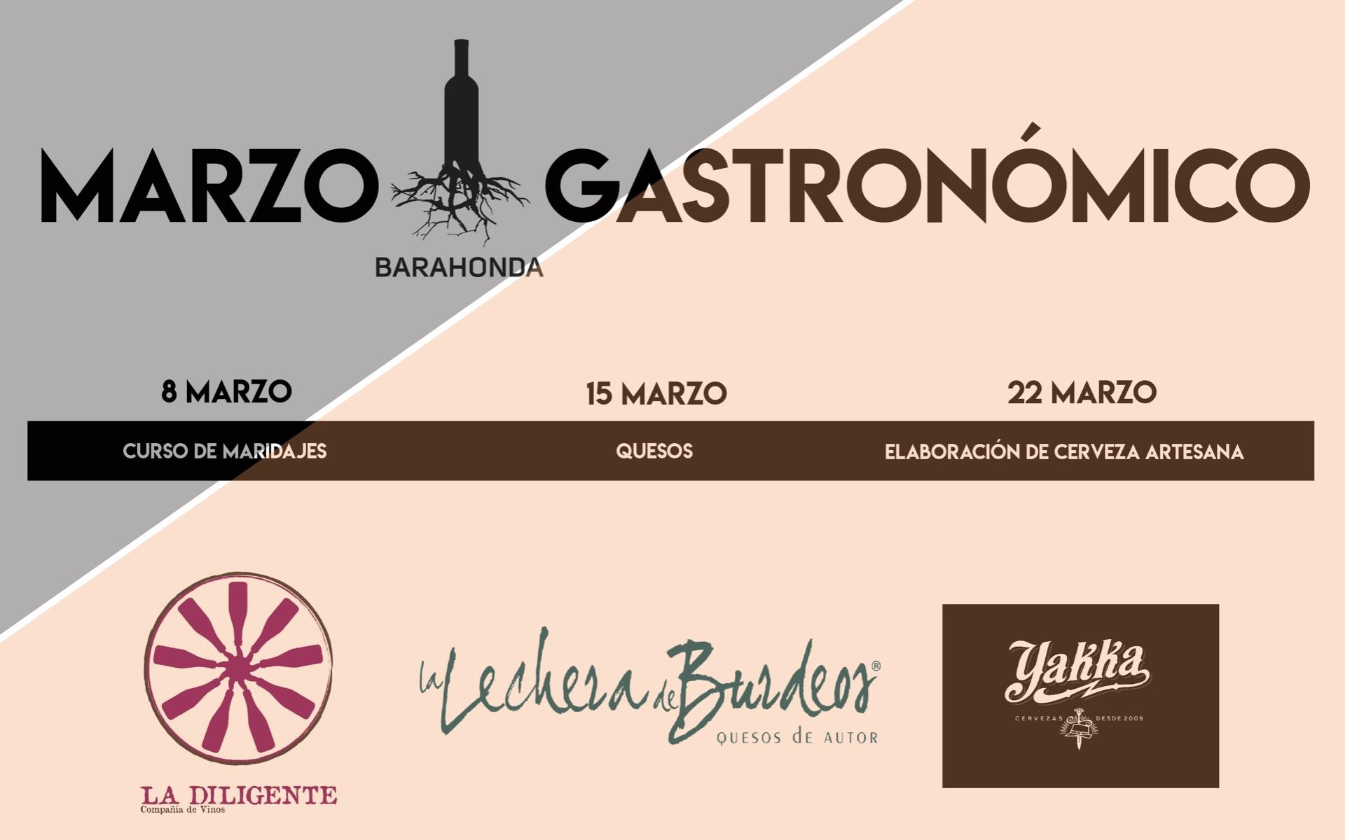 Marzo Gastronómico 2019 de Barahonda