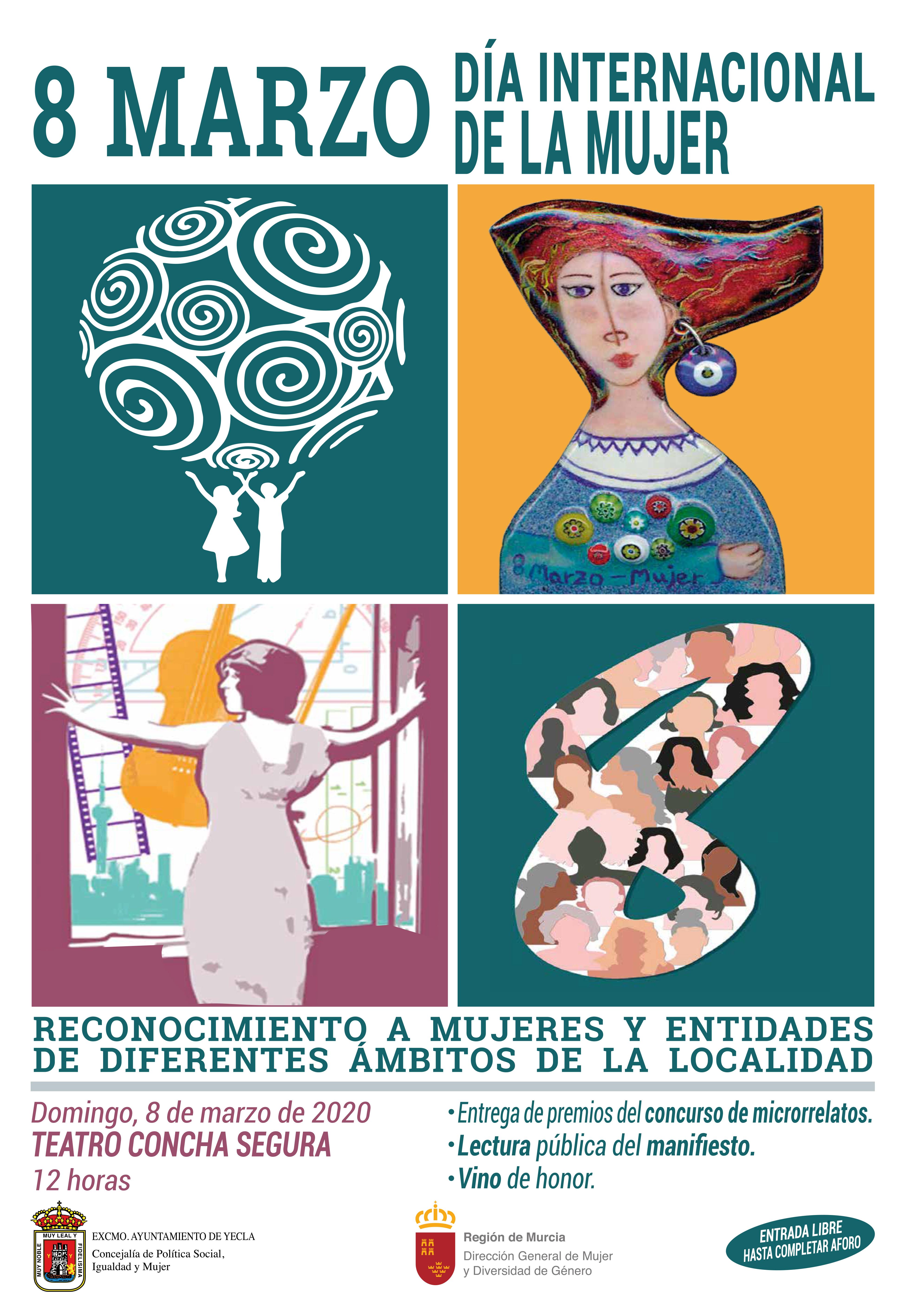 Presentadas las actividades programadas con motivo del Día Internacional de la Mujer