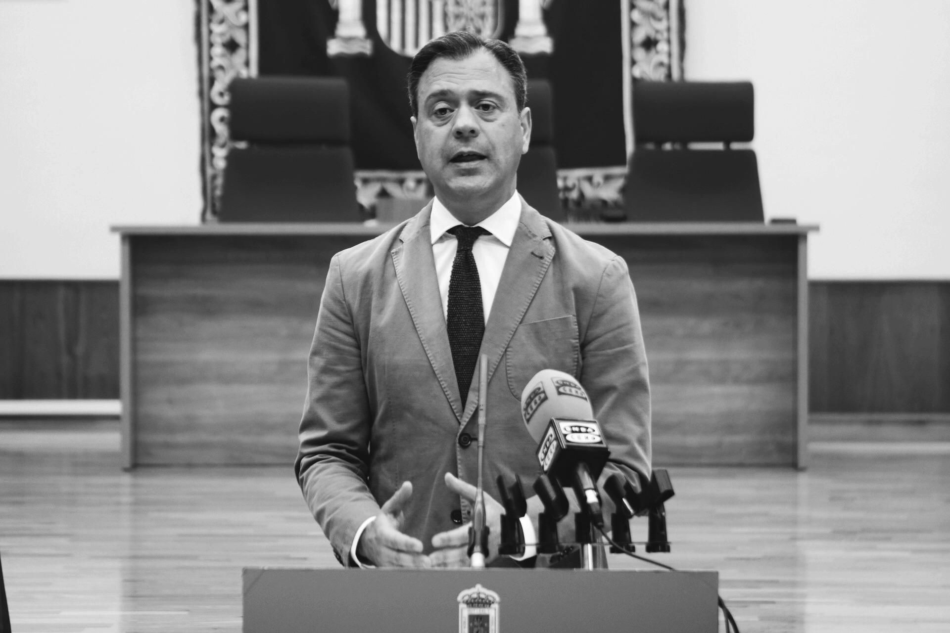 Marcos Ortuño, alcalde de Yecla